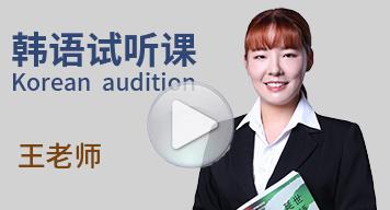 西诺韩语试听课(王老师)
