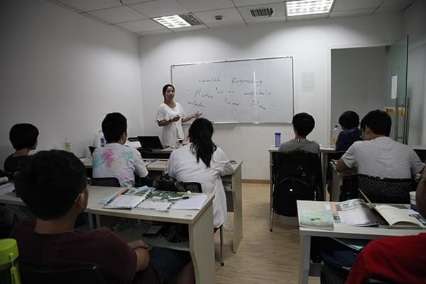 金老师德语课堂照片 德语 - 西诺教育-杭州德语