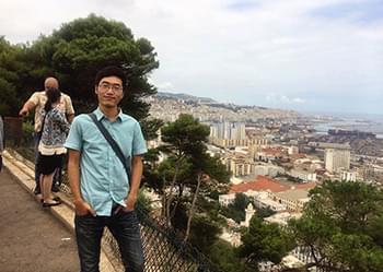 蔡永峰:学无止境,学习能够让人一直进步、成长