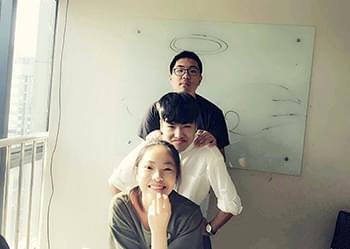 陈烨栋:经过一个月我学到很多经验和单词