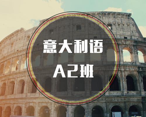 新视线意大利语之意大利语A2班