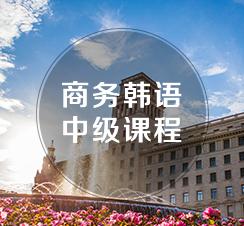 商务韩语中级课程(TOPIK3-4级)