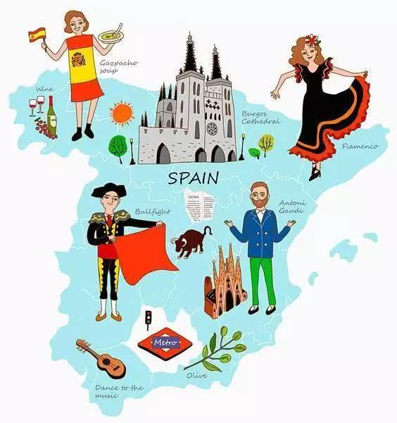 杭州西班牙语培训:有趣味的西班牙句子